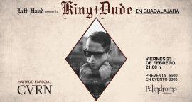 King Dude: el rey del folk rock visitará México.