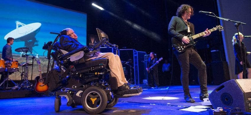 Stephen Hawking y su paso por el rock