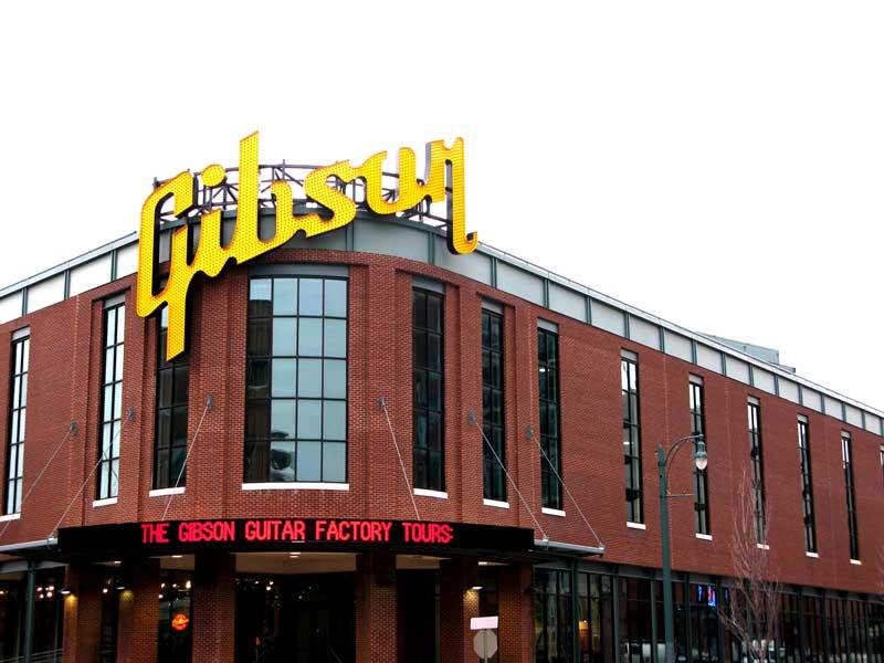 Gibson Guitar Corporation Oficializa Su Bancarrota 1