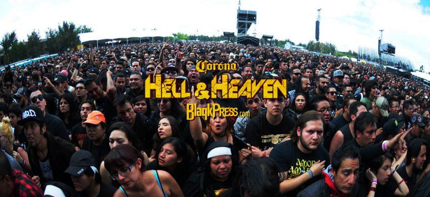 ¿Vas a ir al Hell And Heaven no has visto esto?